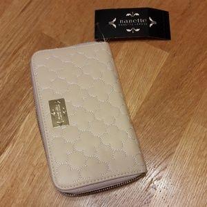 Nanette Lepore zip around wallet